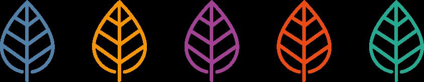 Genius Zone leaf - all five colors